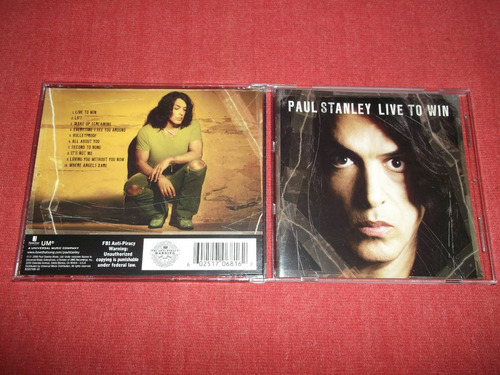 paul stanley - live to win - kiss cd usa ed 2006 mdisk