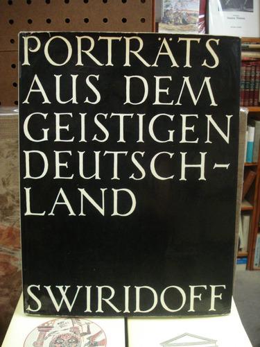 paul swiridoff  porträts aus dem geistigen deutschland 1965