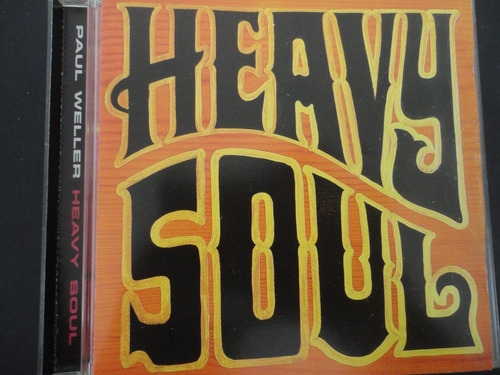 paul weller - heavy soul (1997) ex- the jam cd americano
