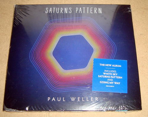 paul weller saturns pattern cd sellado / kktus