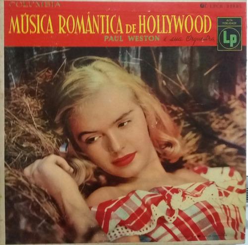 paul weston música romântica de hollywood (lp capa dura)