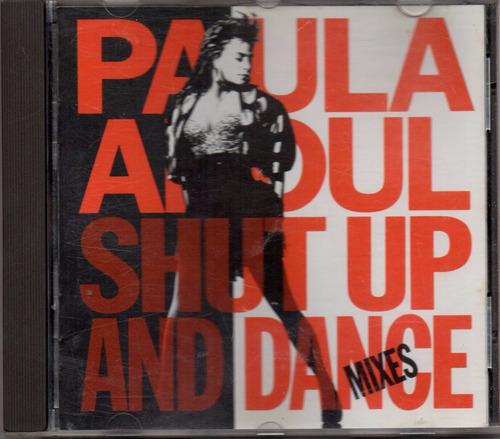 paula abdul - shut up and dance cd original usado