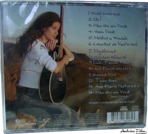 paula fernandes canções do vento sul cd original novo lacre
