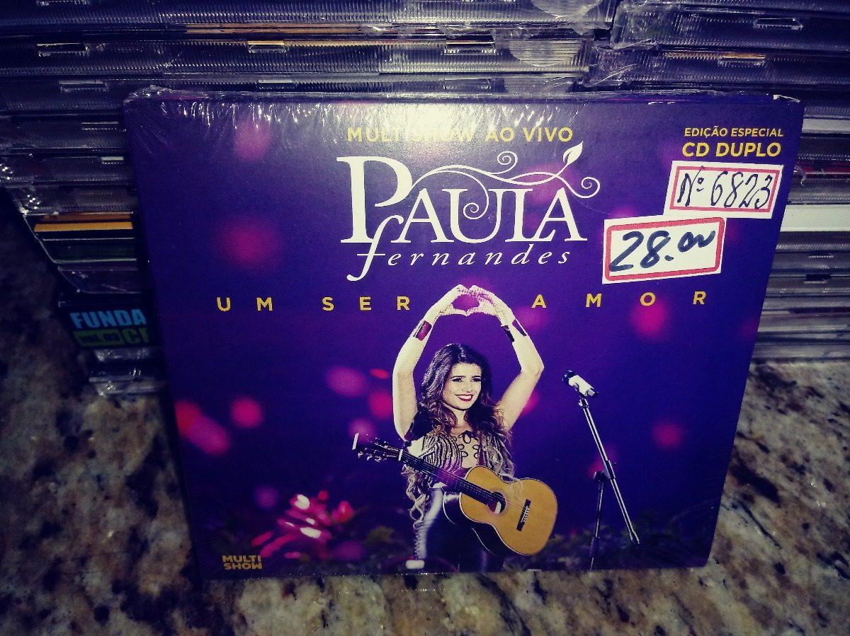 cd multishow ao vivo - um ser amor