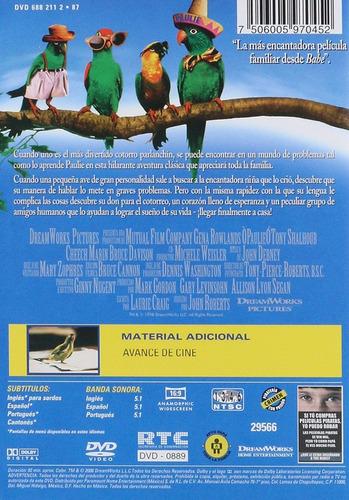 paulie el loro pelicula dvd