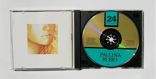 paulina rubio 24 kilates cd mexicano edicion original