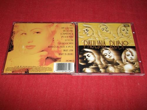 paulina rubio - la chica dorada cd nacional ed 1992 mdisk