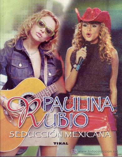 paulina rubio - seduccion mexicana libro de madird españa