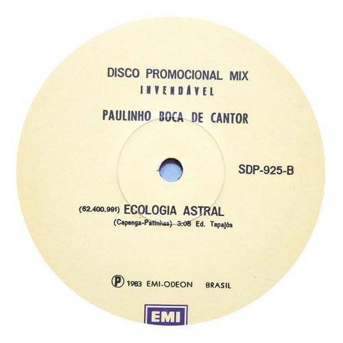paulinho boca de cantor lp 1983 single ecologia astral 14912