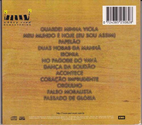 paulinho da viola - cd a dança da solidão - 1972 - digipack