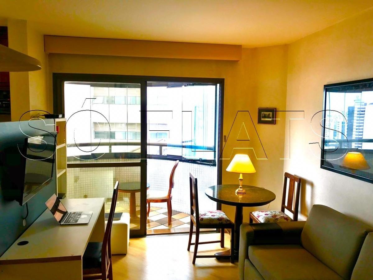 paulista wall street flat  na bela vista (11) 3059-0846