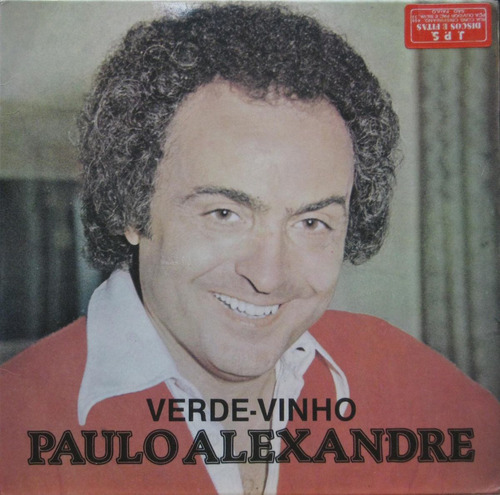 paulo alexandre compacto vinil verde vinho 1978