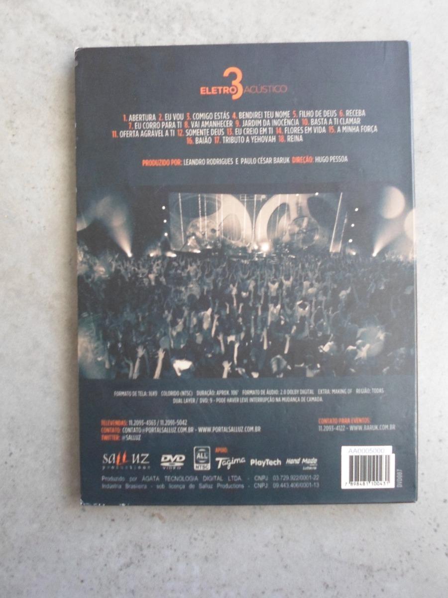 Paulo César Baruk E Banda Salluz Dvd Eletro Acústico 3