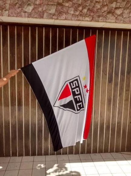 Bandeira São Paulo Futebol Clube 5x Time Independente Oferta - R ... 7b8aa71344c4c