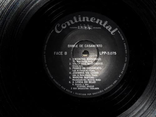 paulo gracindo - brinde de casamento lp vinil 1950s