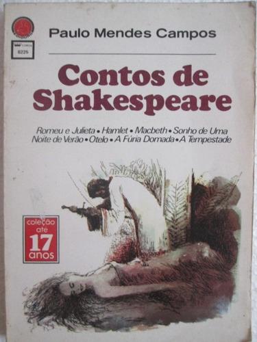 paulo mendes campos contos de shakespeare ediouro