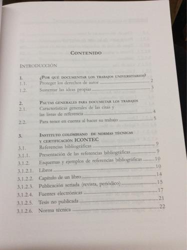 pautas para citar textos y hacer listas de referencia. ossa.