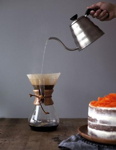 pava barista café - tetera kettle cuello de cisne