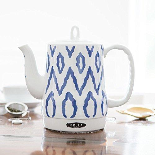 pava de ceramica electrica bella 13724 azul azteca azul