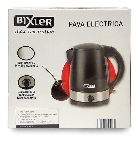 pava eléctrica bixler pep-03c 1.7l 2200w filtro de agua pc