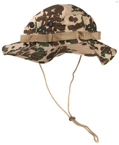 pava mil tec militar en drill color flecktarn desierto