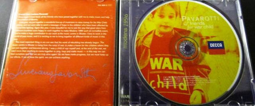 pavarotti & friends - for war child