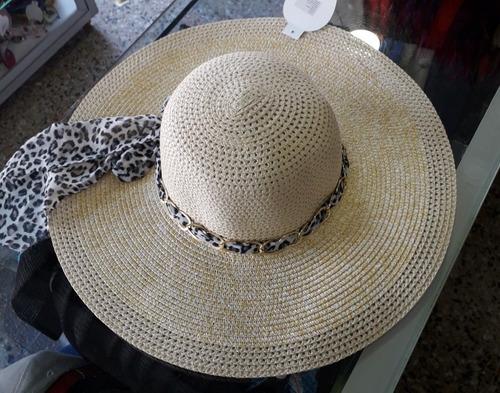 pavas playeras ala ancha. pavas para el sol. sombrero playa
