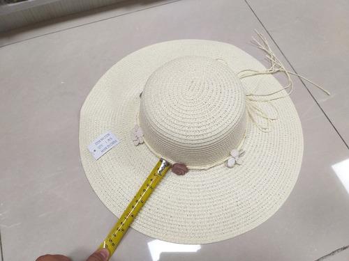 pavas x 12 unds, sombreros playeros, gorros playa