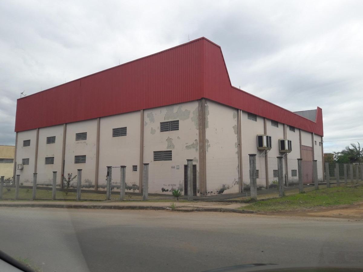 pavilhão industrial climatizado