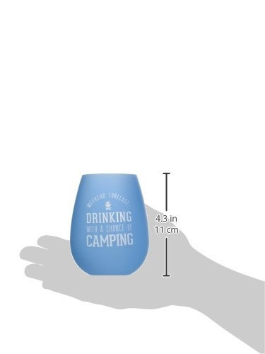 pavilion gift company we people camping azul y verde silicon