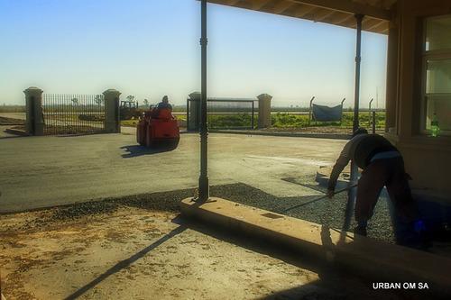 pavimentacion   asfalto  en caliente mov de suelo