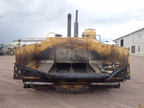 pavimentadora o finicher caterpillar ap 1055b 2003 asfalto