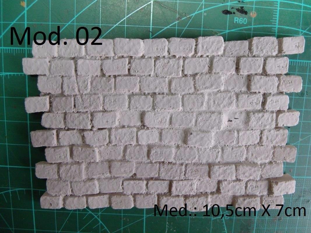 Pavimento ou parede em resina para dioramas 1 24 1 25 1 - Resina para paredes ...