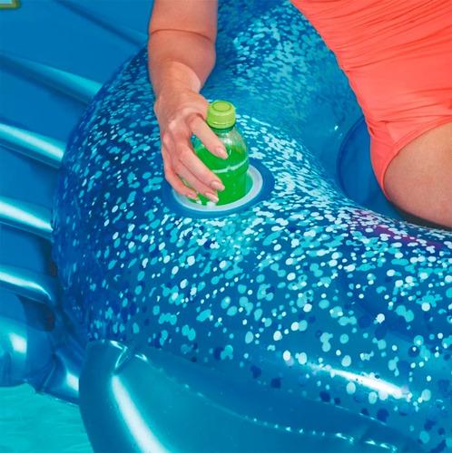pavo real inflable flotador pileta bestway 41101 full