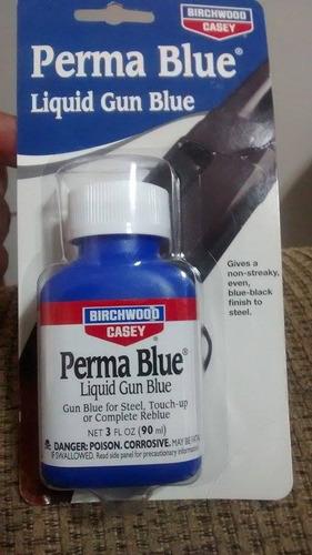 pavon en frio perma blue armas pistola rifle caceria armas