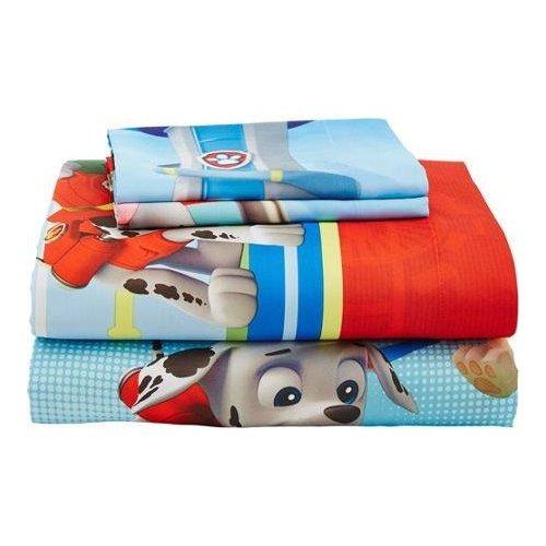 Paw patrol 4pc doble consolador y juego de s banas de cama for Medidas de sabanas para cama doble