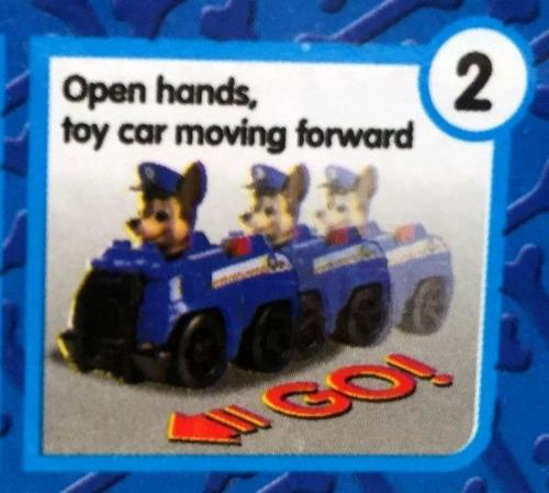 paw patrol 6 muñecos set x 3 autos 2 modelos patrulla canina