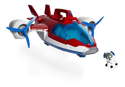 paw patrol avion con  luces y sonidos air patroller plane