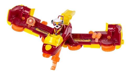 paw patrol camion bomberos diseño mosca marshall mighty pups