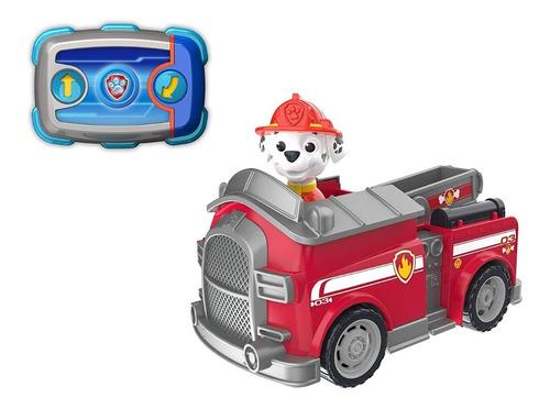 paw patrol carro a control remoto marshall