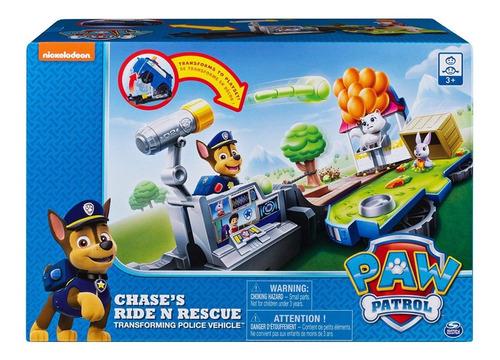 paw patrol chases ride rescue transformando 2 en 1