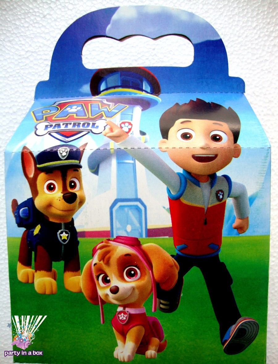 Paw Patrol Fiesta Vasos Platos Cajas Patrulla De Cachorros - $ 35.00 ...