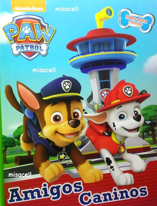 Paw Patrol Libro Para Colorear Tamaño Carta :) - $ 10.00 en Mercado ...