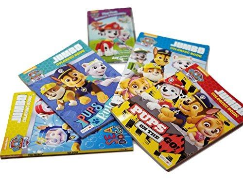 Paw Patrol Libro Para Colorear Y Actividad Paquete De 4 Pack ...