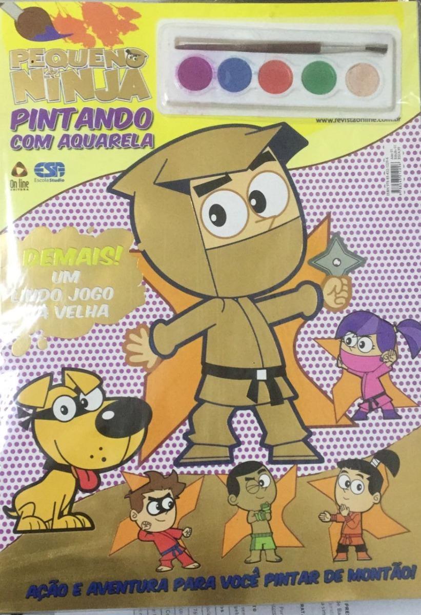 Paw Patrol Livro Para Pintar Com Aquarela Patrulha Canina R 18