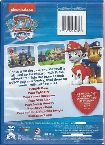 paw patrol marshall and chase on the case hablada en español