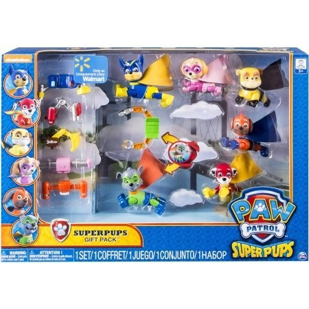 Paw Patrol Pack Super Puds S 250 Per H 233 Roes 6pcs Exclusivo