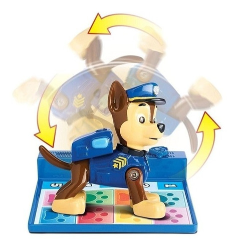 paw patrol patrulla canina saltarin jueguetes back flip