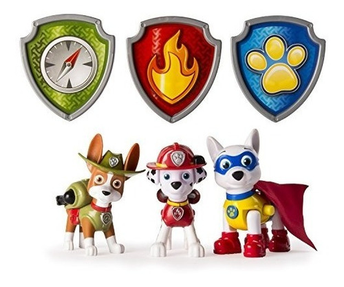 paw patrol tracker marshall y apolo action pup juguetes,...