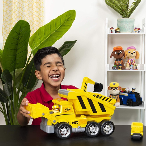 paw patrol ultimate rescue construction truck